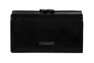 Lorenti Dámská kožená peněženka černá 55020-NIC BLACK