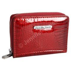 Malá Dámská Kožená Peněženka Jennifer Jones 5248 RED