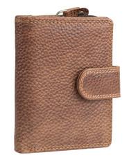 Dámská kožená peněženka R-4856 HNĚDÁ