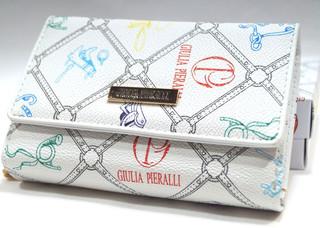 Dámská italská peněženka bílá Giulia Pieralli M277/095S-multi