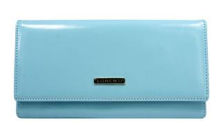 Lorenti Dámská velká kožená peněženka modrá 76111-L.BLUE