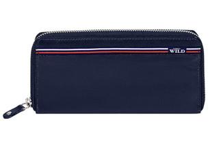 Dámská kožená peněženka WILD ALWAYS N512-GV BLUE