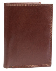 Pánská kožená pěněženka hnědá na výšku v krabičce Ricardo Ramos KVT306