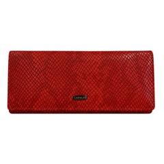 Dámská kožená červená peněženka Cavaldi GD24-4