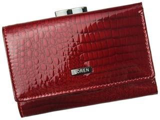Loren Dámská peněženka kožená malá červená 55282-RS RED