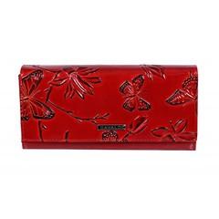 Cavaldi Dámská velká červená peněženka PN24-BF