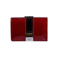 Dámská kožená peněženka malá červená Lorenti GF117-SH RED
