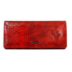 Dámská velká kožená peněženka Cavaldi červená GD20-4 CRO