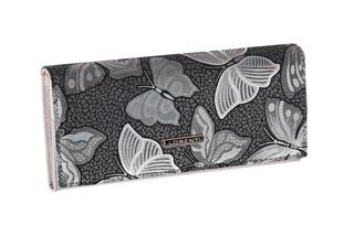 Lorenti Dámská kožená peněženka šedá 72401-NBF GRAY
