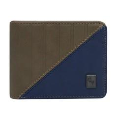 Pánská peněženka hnědá a modrá Cavaldi M13-3