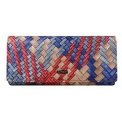 Dámská velká kožená červená peněženka Cavaldi GD24-4 M