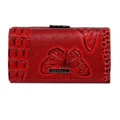 Dámská peněženka červená s 3D efektem Cavaldi PN23-BFC