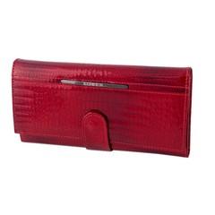 Dámská peněženka velká kožená červená Loren JP-515-RS RED FK