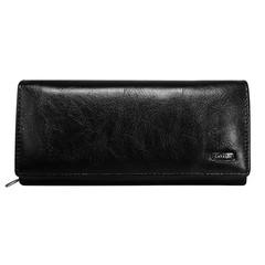Dámská kožená černá peněženka Cavaldi GD24-2 BLACK