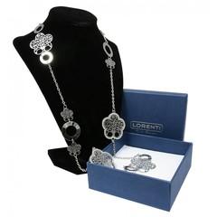 Masivní náhrdelník stříbrný strom života s kamínky Lorenti