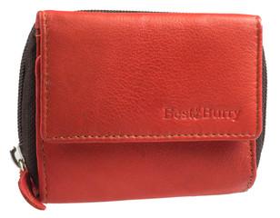 Dámská kožená peněženka červená Best Bull