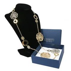 Masivní náhrdelník zlatý růže Lorenti