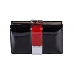 Dámská kožená peněženka malá černá Lorenti GF117-SH BLACK