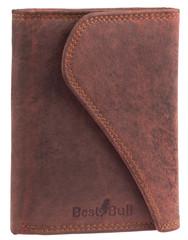 Dámská luxusní kožená peněženka červená Best Bull