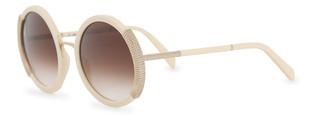 Sluneční brýle Balmain Bílé BL2118