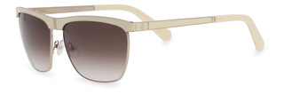 Sluneční brýle Balmain Bílé BL2043