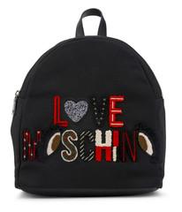 Batoh Love Moschino Černý JC4295PP06KN