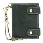 Pánská kožená peněženka černá Always Wild 2901-BIC