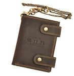 Pánská kožená peněženka hnědá Always Wild 2901-BIC