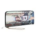 Galanto velká dámská peněženka na zip dívka ve městě