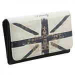 Dámská kožená peněženka Princely London Union Jack P4003UJ